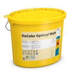 Матовая акрилатная краска для стен и потолков StoColor Opticryl Matt